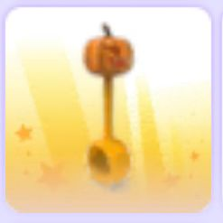Limited   limited pumpkin rattle