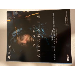 Death Stranding Digital Deluxe Content and Timefall Digital Music Album