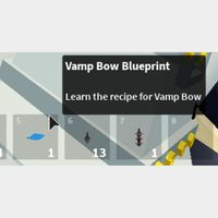 Weapon | Islands Vamp Bow Bluepri
