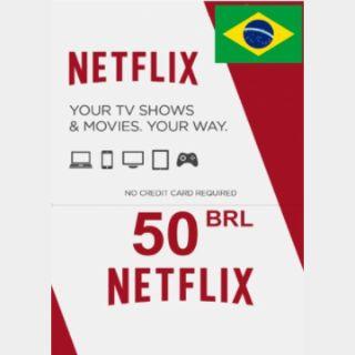 Netflix cards 50,00 BRL Brazil