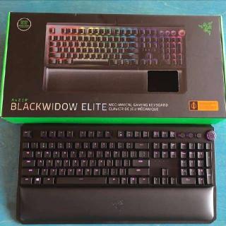 $169.90 RAZER BLACKWIDOW ELITE (Green Switch)