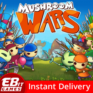 Mushroom Wars | Instant & Automatic Delivery | PC Steam Key