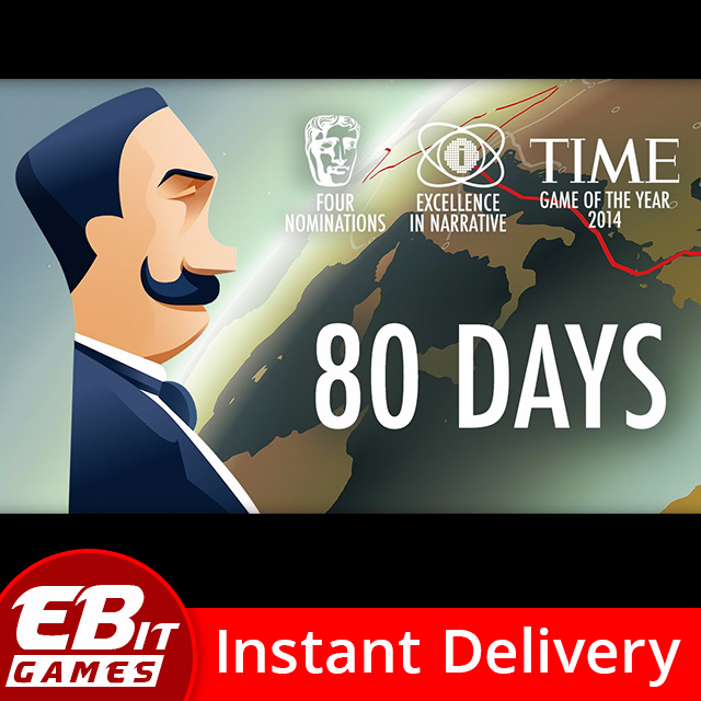80 Days | Instant & Automatic Delivery | PC Steam Key