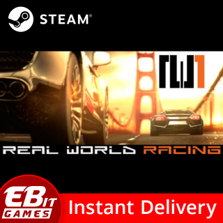 REAL WORLD RACING - RARE Steam Key (no longer available on Steam store)