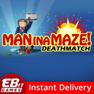 Man in a Maze: Deathmatch | Instant & Automatic Delivery | PC Steam Key