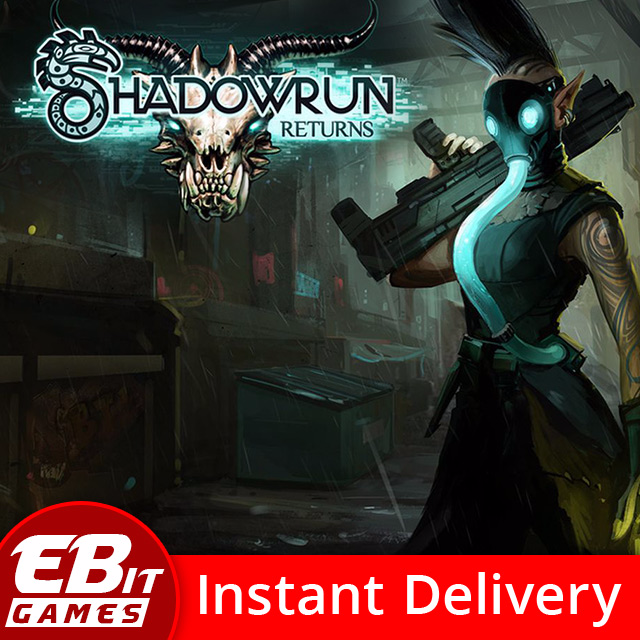 Shadowrun Returns | Instant & Automatic Delivery | PC Steam Key