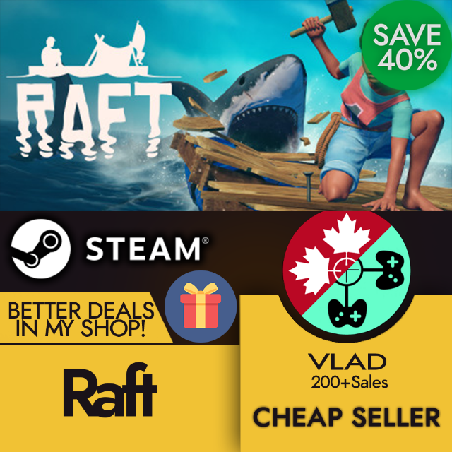 Raft (Steam Gift) - Steam Games - Gameflip