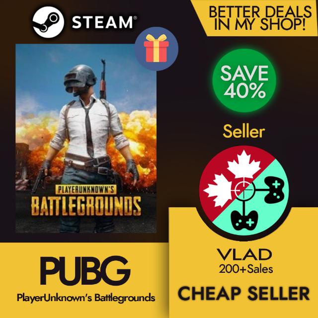 PLAYERUNKNOWNS BATTLEGROUNDS / PUBG (Steam Gift