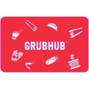 $25.00 GrubHub