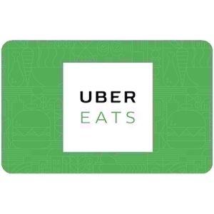 $15.00 Uber Eats