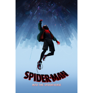 Spider-Man: Into the Spider-Verse (2018) Digital HD Code ITunes Prime Video VUDU Google Play Fandango Movies Anywhere