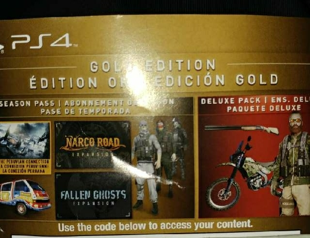 Ghost Recon Wildlands Gold Edition Content Ps4 Games