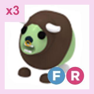 Pet   FR Zombie Buffalo x3
