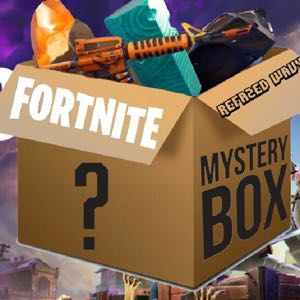 3 mystery boxes pick one