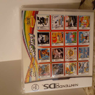 Nintendo Ds 489 In 1 Game Card