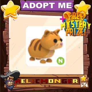 Pet | Adopt Me Neon Ginger Cat