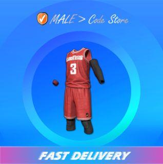 PUBG   Looters Basketball Uniform