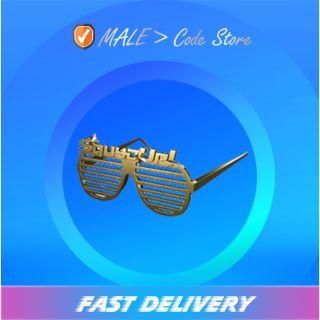 PUBG   Golden Shutter Glasses
