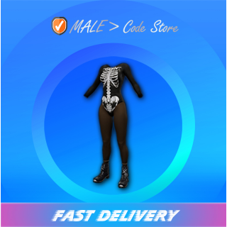 PUBG   Skeleton Queen Bodysuit