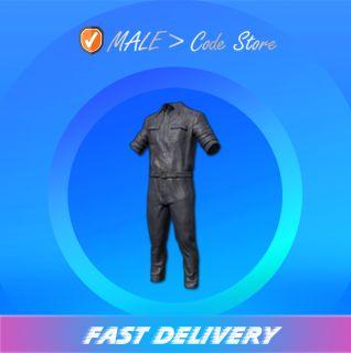 PUBG   Leather Jumpsuit