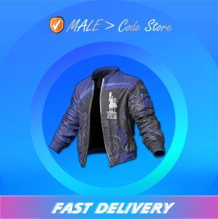PUBG   Qi'e Biker Jacket (Permanent)
