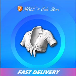 PUBG | Twisty Top White