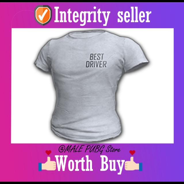 PUBG | DRIVER SHIRT