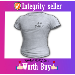PUBG   DRIVER SHIRT