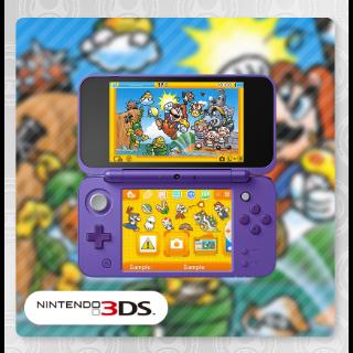 Super Mario Bros. Famicom Cartridge 3DS Theme