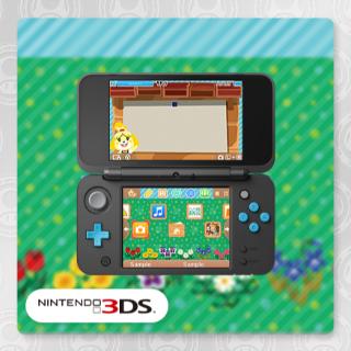Animal Crossing Bulletin Board 3DS Theme
