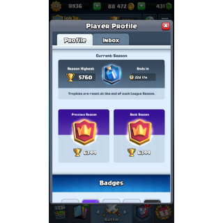I will carry you in Clash Royale from 0 to 6300