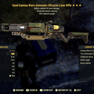 Weapon | Quad Exp Laser
