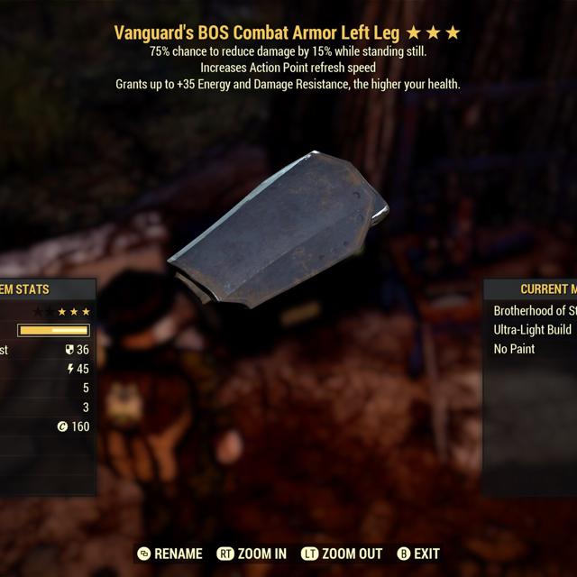 Apparel | Powered Vanguard Sentinel L Leg