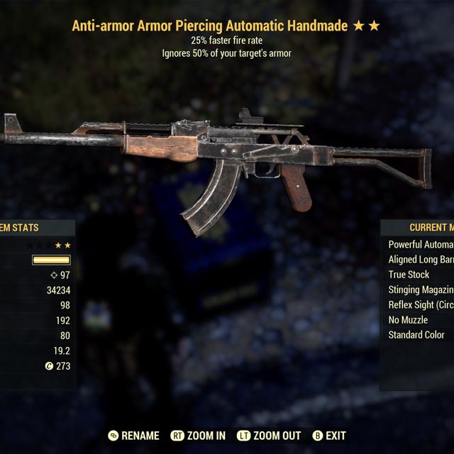 Weapon | AA FFR Handmade
