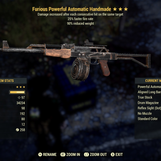 Weapon | Furious FFR Handmade