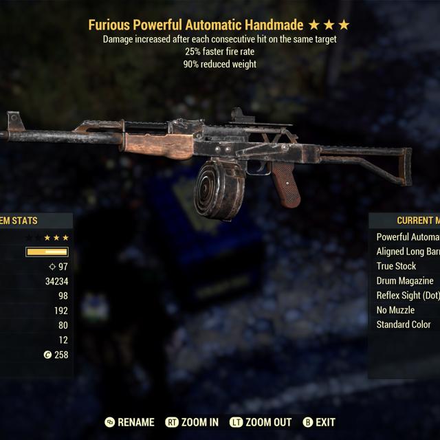 Weapon | Furious FFR Handmade