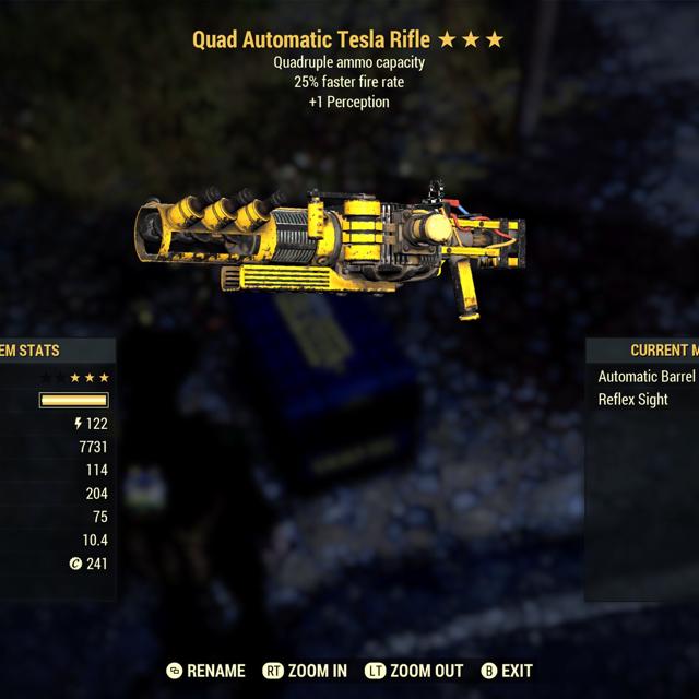 Weapon | Quad FFR Tesla Rifle
