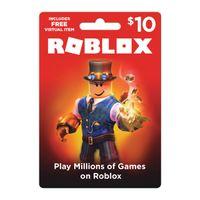 $10.00 Roblox Gift Card Digital Pin Delivery 1000 Robux Premium Membership