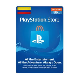 $50.00 PlayStation Store Colombian Latin America