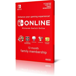 Nintendo Online Family Membership 12 Months UP to 8 Users ( Family & Friends )