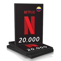 BUNDLE 10 CARDS NETFLIX COP 20.000