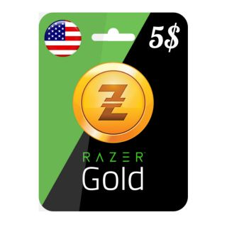 $5 Rixty Razer Gold Card USA and GLOBAL - Digital Code - Instant Delivery