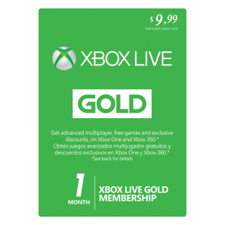 Xbox Live GOLD Subscription Card 1 Month GLOBAL XBOX LIVE [ 25% OFF USE COUPON DISCOUNT ON MY PROFILE]