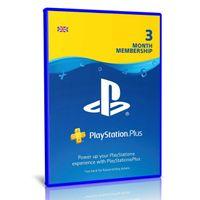 PlayStation Plus 3 Month Membership   PS4   PSN Download Code - UK account