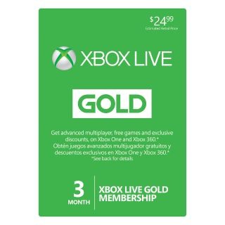 Xbox Live Gold 3 + 1 Month Global ( GET 1 EXTRA MONTH FREE )