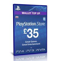 £35 UK Sony PlayStation Network Card - PlayStation Vita / PS3 / PS4 / PSN
