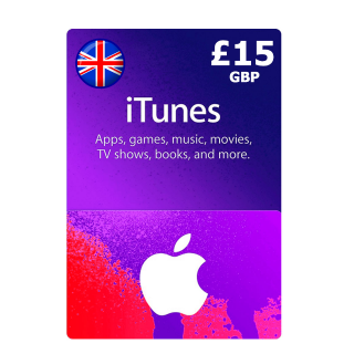 £15.00 iTunes UK Apple Store Giftcard   Great Britain