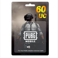 PUBG MOBILE 60 UC (GLOBAL)