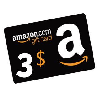 $3.00 Amazon US Online Code Auto-Delivery