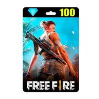 Garena FREE FIRE Diamonds 100 + 10 Bonus Instant Delivery Reload Balance